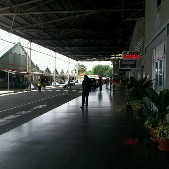 Photo taken at A.N.R. Robinson International Airport (TAB) by Marlon C. on 7/17/2012