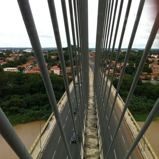 Photo taken at Ponte Estaiada by Fernando B. on 3/10/2012