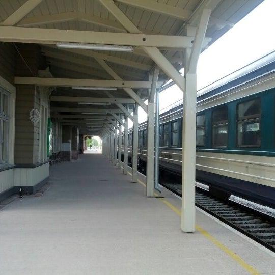 Photo taken at Tartu Raudteejaam by Tauno T. on 5/16/2012