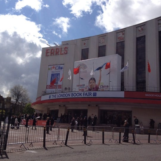 Photo taken at Earls Court Exhibition Centre by Tatiana A. on 4/17/2012