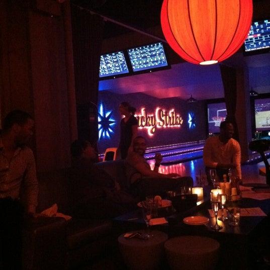 Photo taken at Lucky Strike New York by Taj W. on 3/23/2012