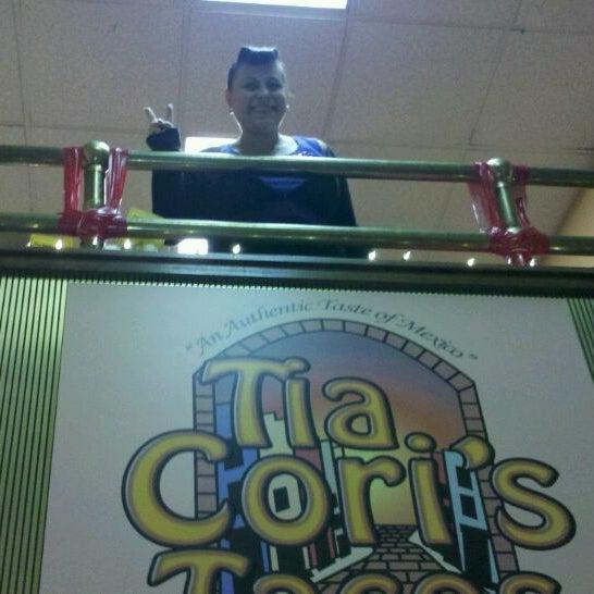 Photo taken at Tia Cori's Tacos by Bridgette P. on 2/9/2012