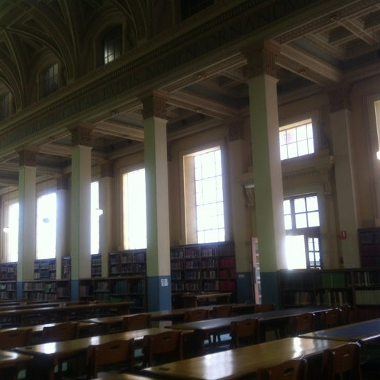 Photo taken at Barr Smith Reading Room by Mark A. on 7/16/2012