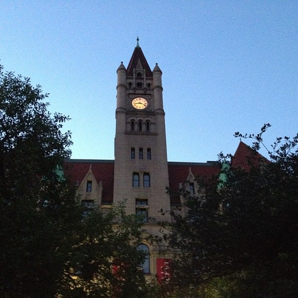 Photo taken at Rice Park by Michael S. on 8/28/2012