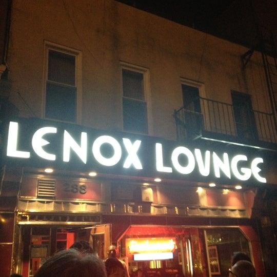 Photo taken at Lenox Lounge by Yuichi S. on 8/14/2012