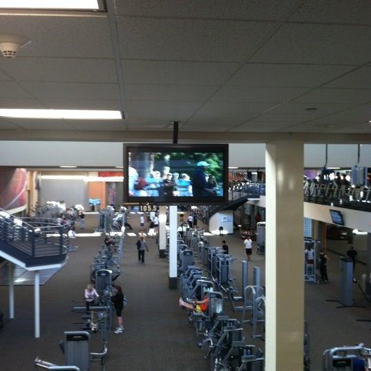 Photo taken at LA Fitness by Jake K. on 4/6/2012