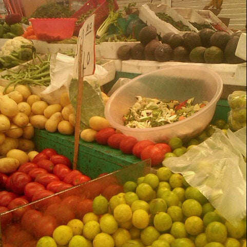Photo taken at Mercado de la San Juanita by Nenathaly H. on 7/14/2012