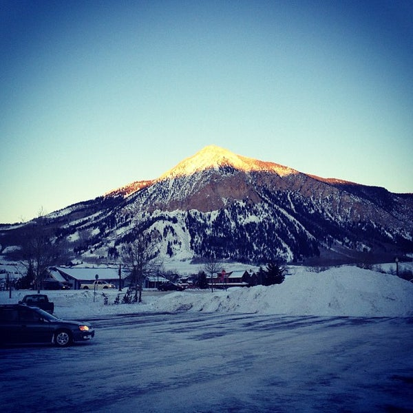Photo taken at Crested Butte, CO by Bruce C. on 2/4/2012