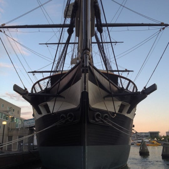 Photo taken at USS Constellation by Christopher G. on 6/26/2012