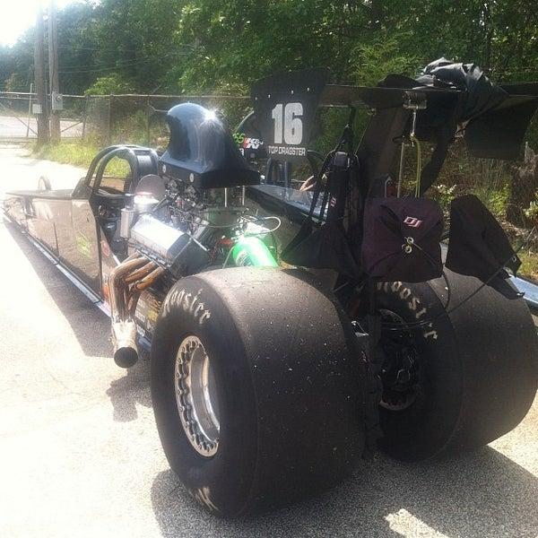 Photo taken at Atco Raceway by Mc Slick on 8/22/2012