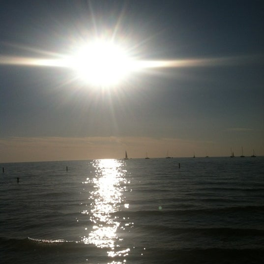 Photo taken at Silver Beach by Alicia B. on 8/25/2012