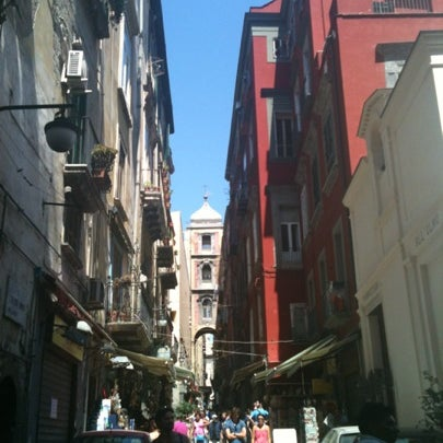Photo taken at S. Gregorio Armeno by Federica P. on 8/13/2012