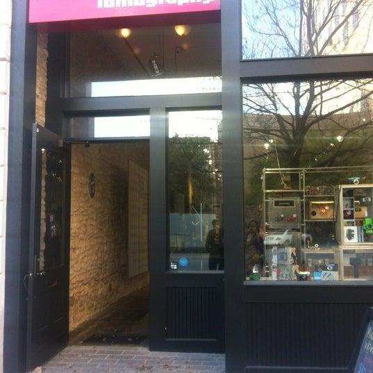 Photo taken at Lomography Gallery Store Austin by Jennifer P. on 3/11/2012