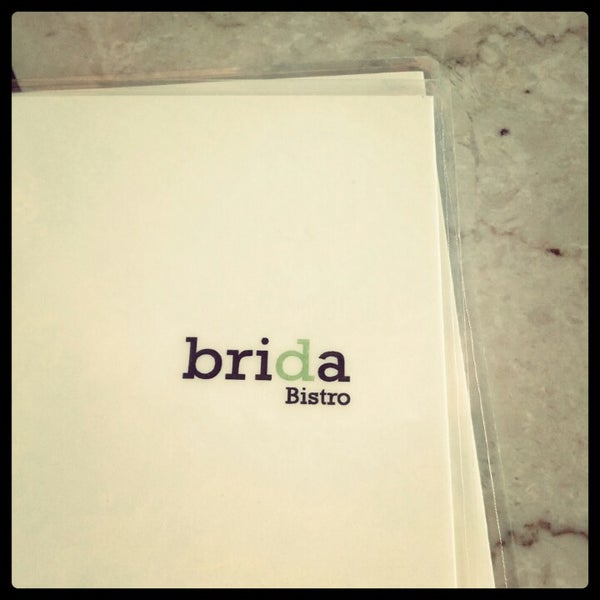 Photo taken at Brida by Mina T. on 8/25/2012