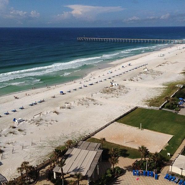 Photo taken at Hilton Pensacola Beach by John P. on 9/8/2012