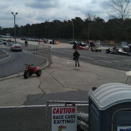 Photo taken at Atco Raceway by Ash S. on 4/1/2012
