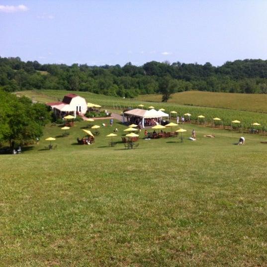 Photo taken at Three Fox Vineyards by Tom B. on 5/27/2012