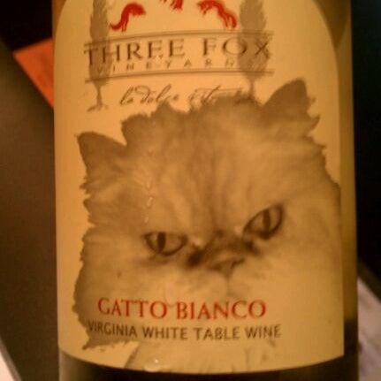 Photo taken at Three Fox Vineyards by Scott T. on 3/24/2012