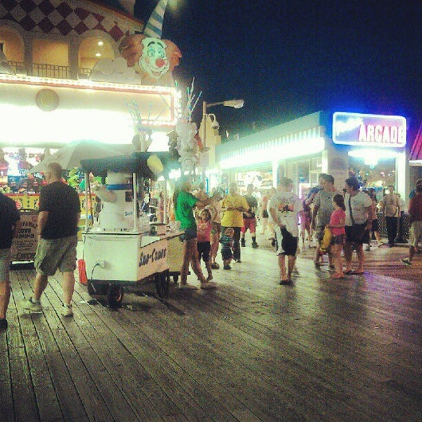 Photo taken at Point Pleasant Beach Boardwalk by Amanda R. on 8/9/2012