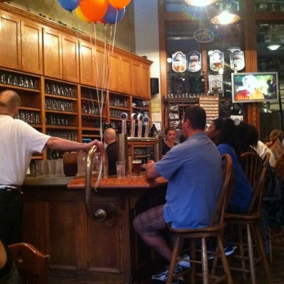 Photo taken at Free State Brewing Company by Chris J. on 7/30/2012