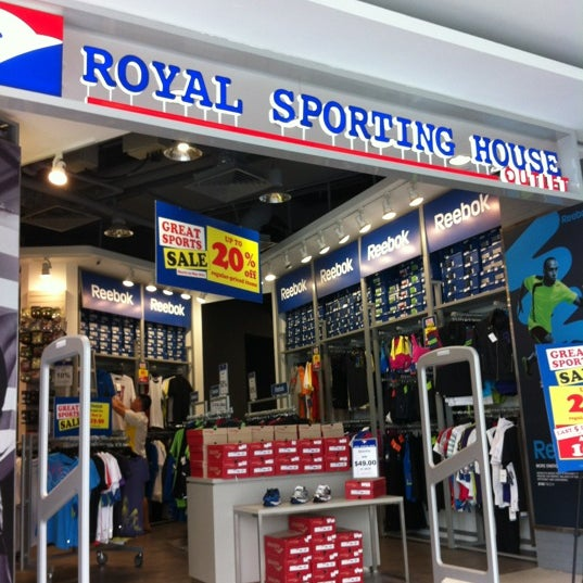 Royal Sporting House Outlet Tampines L2 Changi City Point Mall