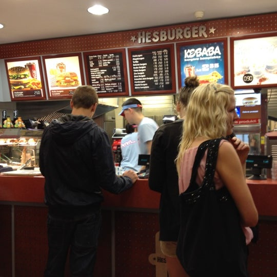 Photo taken at Hesburger - Rīga by Reinis M. on 6/20/2012