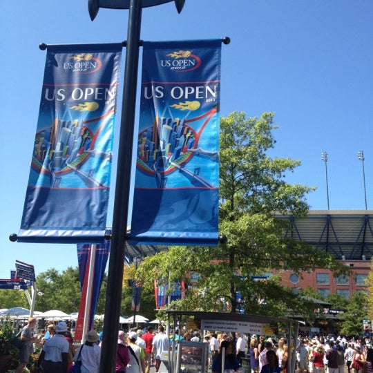 Photo taken at US Open Tennis Championships by chad b. on 8/30/2012