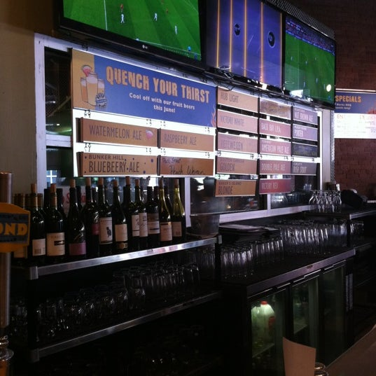 Photo taken at Boston Beer Works by Trace on 6/23/2012