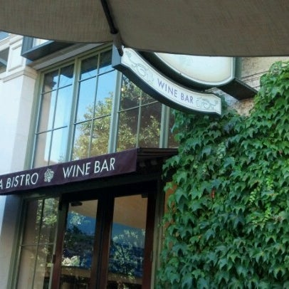 Photo taken at VILLAGE California Bistro & Wine Bar by Lisa R. on 6/30/2012