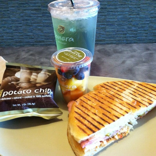 Photo taken at Panera Bread by Sean on 9/4/2012