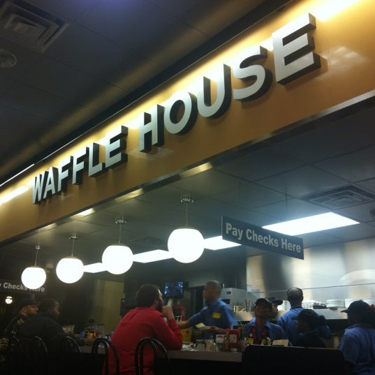 Wow. This waffle house is real real nice....