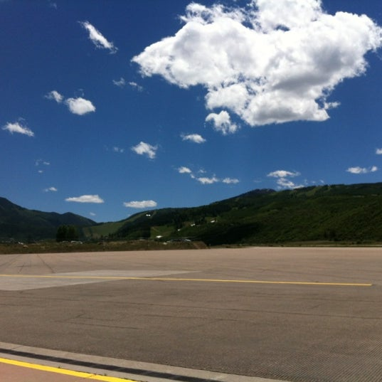 Photo taken at Aspen/Pitkin County Airport (ASE) by Quinn on 6/6/2012