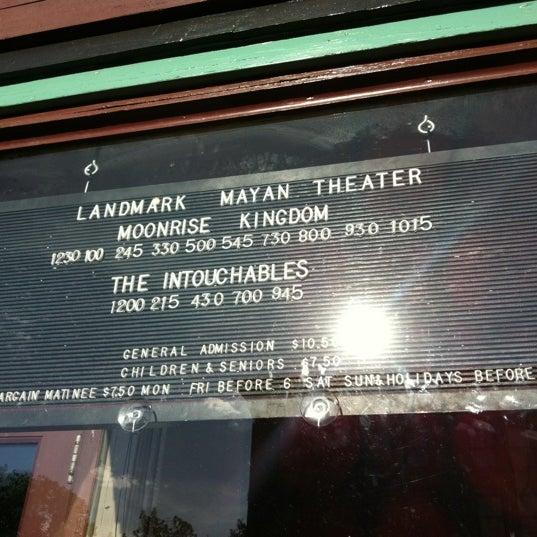 Photo taken at Mayan Theatre by Mireya P. on 6/8/2012