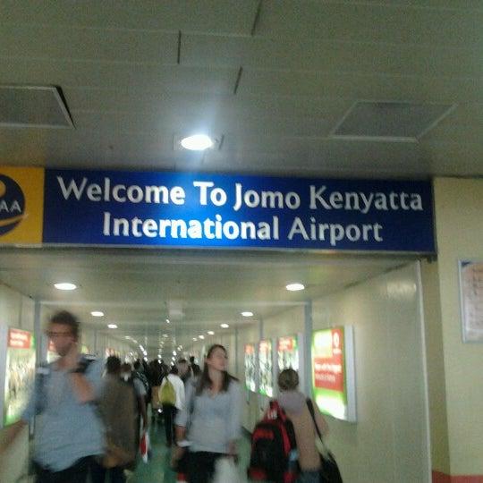 Photo taken at Jomo Kenyatta International Airport (NBO) by Kosgei I. on 7/18/2012