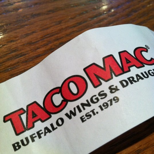 Photo taken at Taco Mac Sports Grill by Blake H. on 3/10/2012