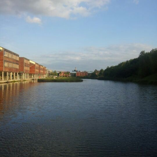 Photo taken at Djanogly Learning Resource Centre by Morgan G. on 6/4/2012
