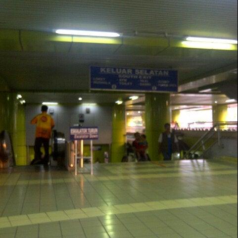Photo taken at Stasiun Gambir by Sandra F. on 7/15/2012