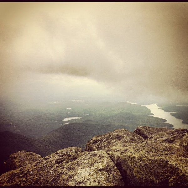 Photo taken at Whiteface Mountain by Dan C. on 8/11/2012
