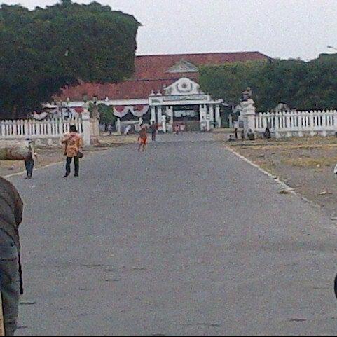Photo taken at Alun - Alun Lor by Arek S. on 8/17/2012
