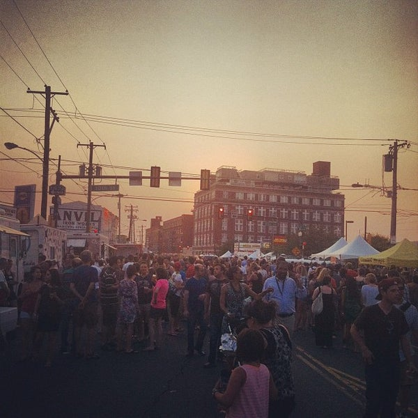 Photo taken at Night Market Washington Avenue by Erin L. on 6/29/2012