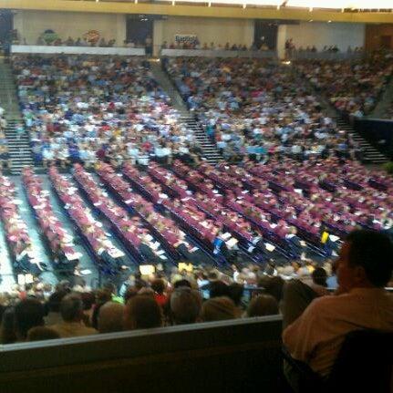 Photo taken at Allen Arena by Martha Sue C. on 5/26/2012