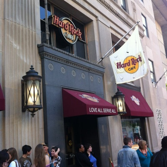 Photo taken at Hard Rock Cafe Washington DC by Mike C. on 4/20/2012