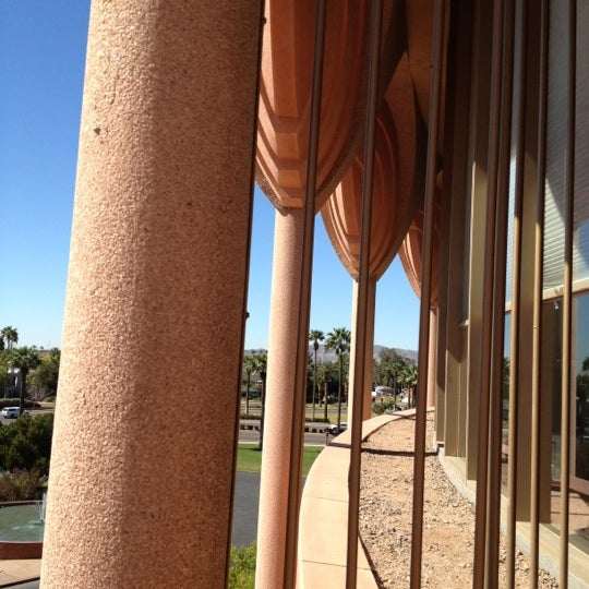 Photo taken at ASU Gammage by Julia W. on 3/23/2012