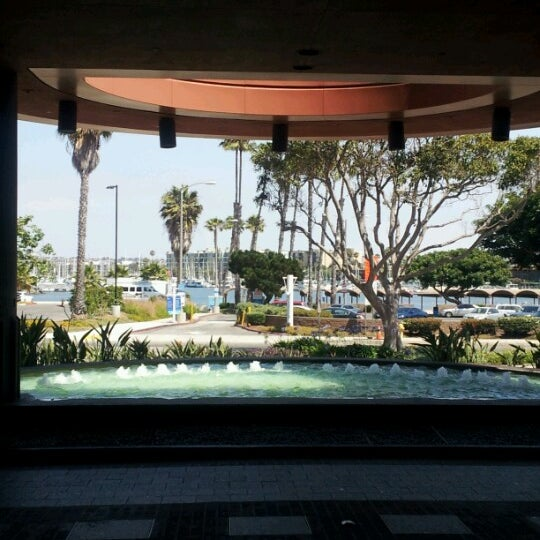 Photo taken at Marina Del Rey Marriott by Jeff H. on 6/15/2012