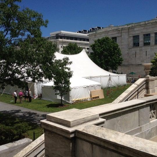 Photo taken at Harvard Medical School Quadrangle by Sasha S. on 5/24/2012