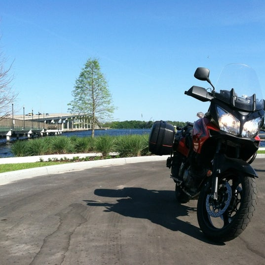 Photo taken at Palatka Riverfront by Tyler R. on 3/19/2012