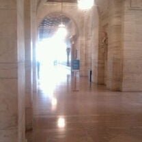 Photo taken at New York Public Library - Hudson Park by Allie S. on 3/5/2012