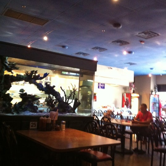 Photo taken at Hue Thai by Tina S. on 6/3/2012