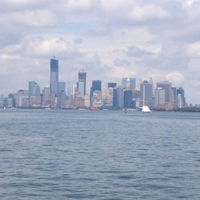 Photo taken at New York Harbor by Michelle on 7/29/2012
