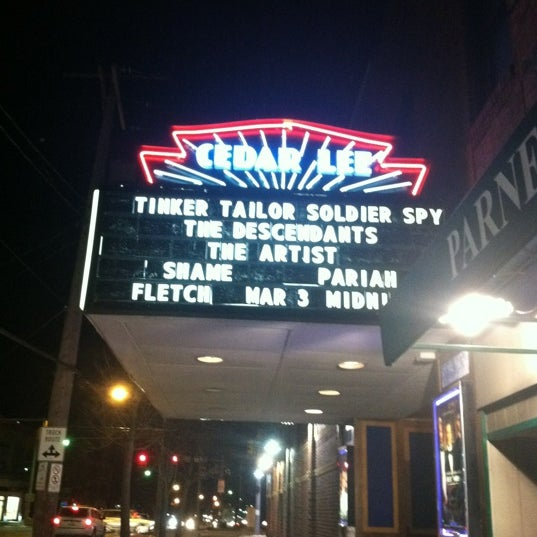 Photo taken at Cedar Lee Theatre by geoffredo on 2/14/2012